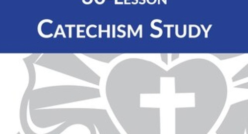 30-Lesson Catechism Study: Leader Guide Sample