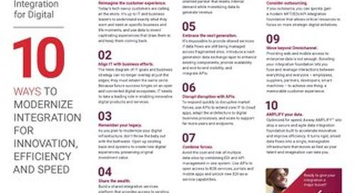 10 maneiras de modernizar sua base de integração