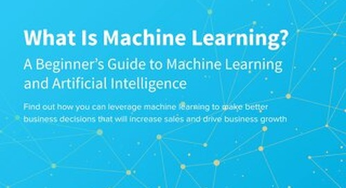 What Is Machine Learning?: A Beginner's Guide to Machine Learning and Artificial Intelligence