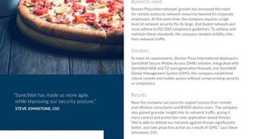 Boston Pizza Case Study