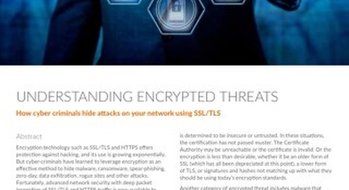 Understanding Encrypted Threats