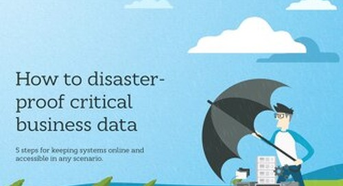 How to Disaster-Proof Critical Data