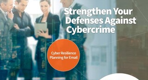 Cyber Resilience Planning for Email