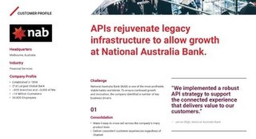 Caso de Éxito: National Australia Bank y la gestión de APIs