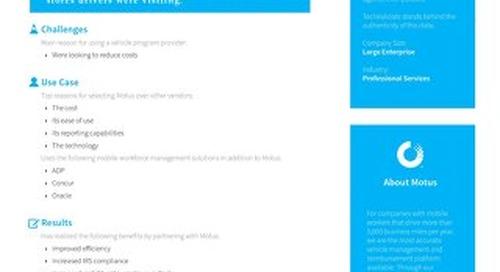 Large Enterprise Professional Services Company Case Study