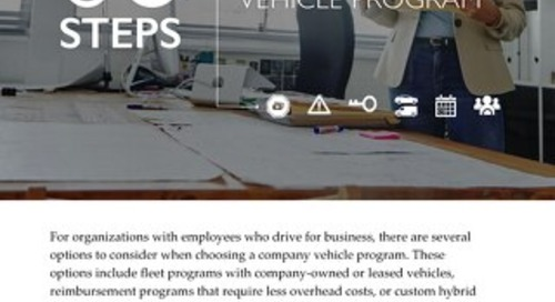 6 Steps to Consider When Selecting a Vehicle Program