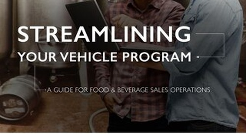 Streamlining Your Vehicle Program: F&B Sales Operations