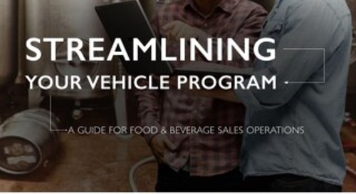 Streamlining Your Vehicle Program: F&B Sales Operations