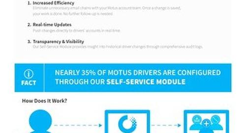 Motus Self-Service Module