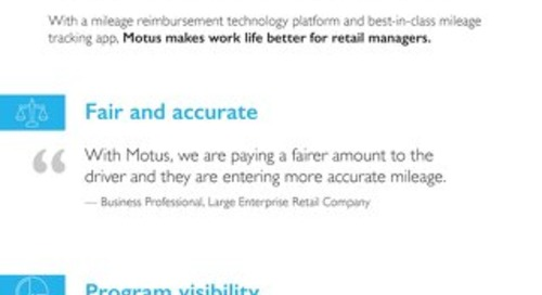 Progressive Retailers Partner With Motus