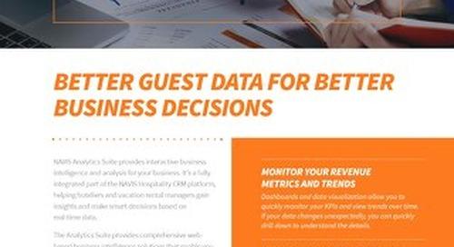 NAVIS Analytics Suite Brochure