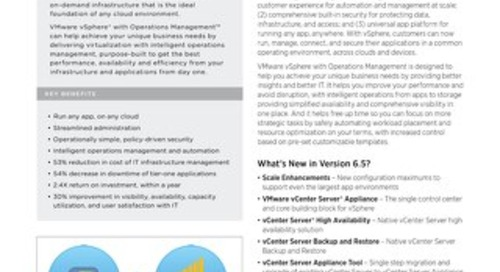 What's New in vSphere 6.5