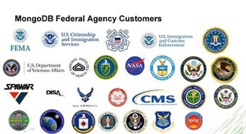MongoDB's Federal Customers