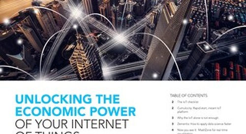Unlocking the economic power of your IoT