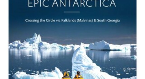 Epic Antarctica: Crossing the Circle via Falklands (Malvinas) & South Georgia