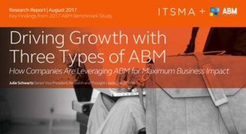 Driving Growth with Three Types of ABM  |  Engagio