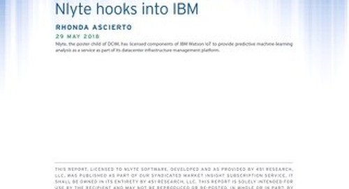 Watson IoT in the datacenter: Nlyte hooks into IBM