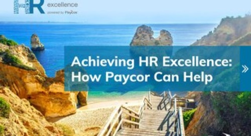 Achieving HR Excellence