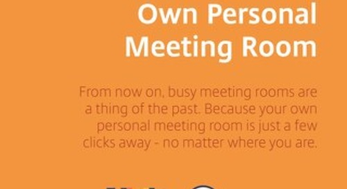 The Easy Way to Create a Personal Meeting Room