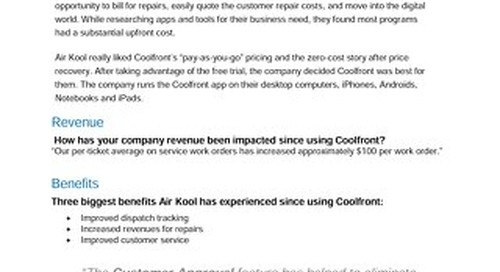 Air Kool Heating and Air Case Study