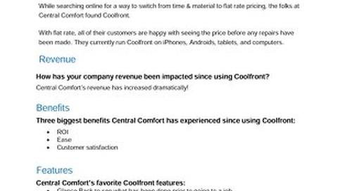Central Comfort Case Study