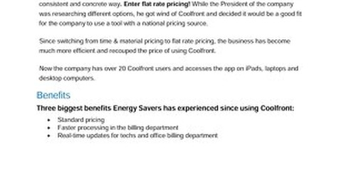 Energy Savers Case Study