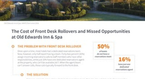The Cost of Front Desk Rollover Case Study