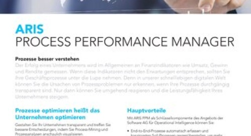 ARIS Process Performance Mangager
