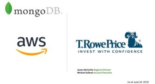 Getting MongoDB through the AWS Marketplace