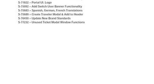 Dash Portal Release Notes (3.0)