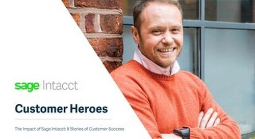 Sage Intacct Customer Heroes