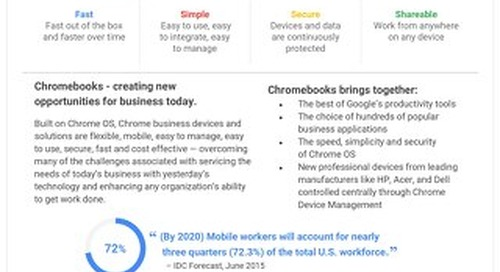 Google Chromebooks Data Sheet
