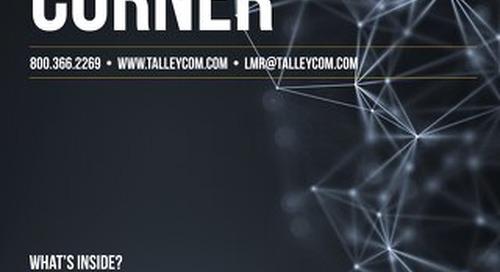 June 2018 - Talley LMR Corner