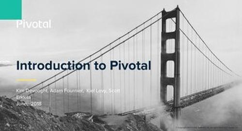 Intro to Pivotal