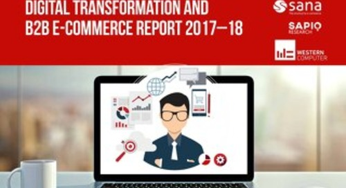 Digital Transformation B2B E-Commerce Report