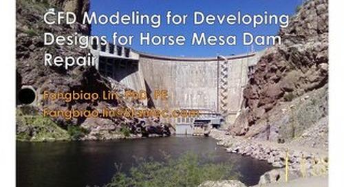 CFD Modeling for Developing Designs for Horse Mesa Dam Repair