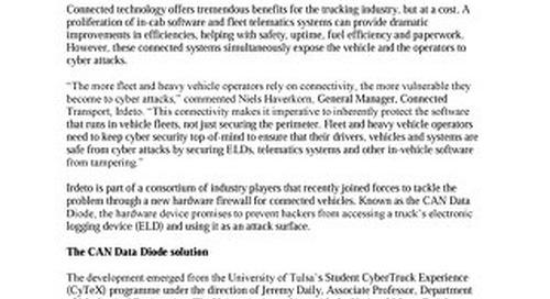 News: Cyber security engineers hone in on ELD vulnerabilities for truckers
