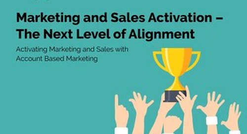 Sales and Marketing Activation