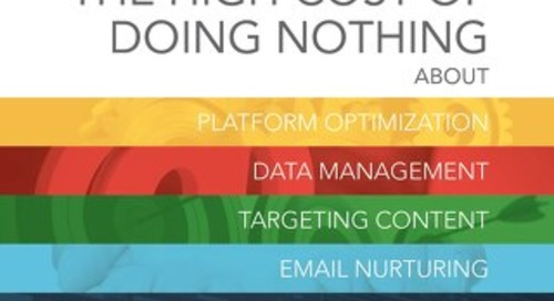 The High Cost of Doing Nothing about Marketing Automation