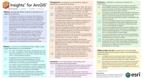 Insights for ArcGIS : Options de visualisation