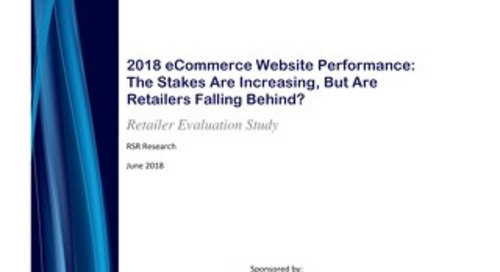 Report: 2018 RSR eCommerce Website Performance