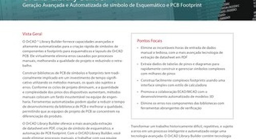 Portuguese OrCAD Library Builder DS