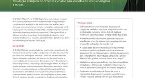 Portuguese OrCAD EE PSpice Designer