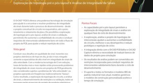 Portuguese OrCAD PCB SI DS