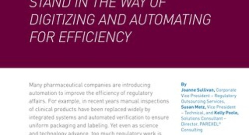 Don't Let Your Data Stand In The Way of Digitizing And Automating For Efficiency