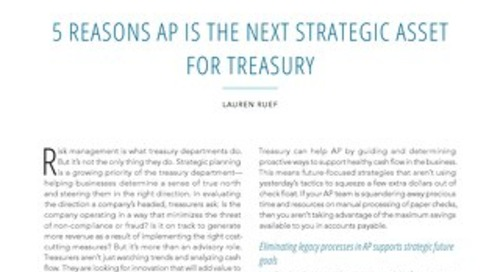 5 Reasons AP is the Next Strategic Asset
