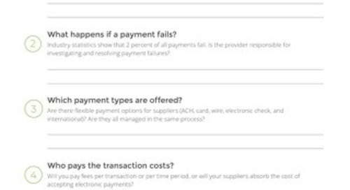 5 Questions to Ask Potential Payment Providers