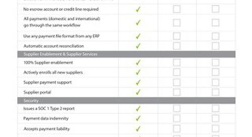 Payment Solution Comparison