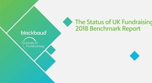Status of Fundraising 2018 - Survey Findings & Data