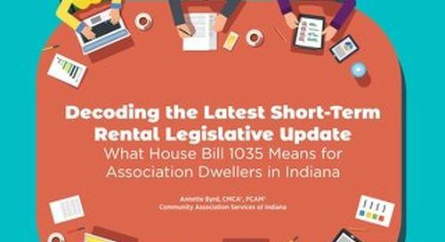 Decoding the Latest Short-Term Rental Legislative Update